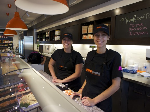 Happy YamChops employees