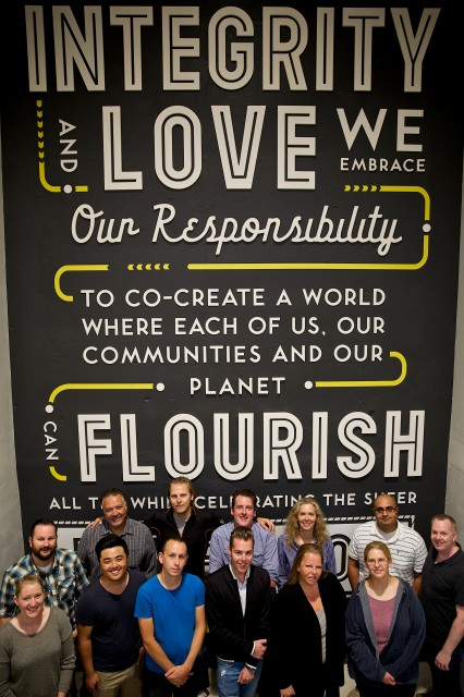 Whole Foods Market Sheppard & Yonge Leadership Team.