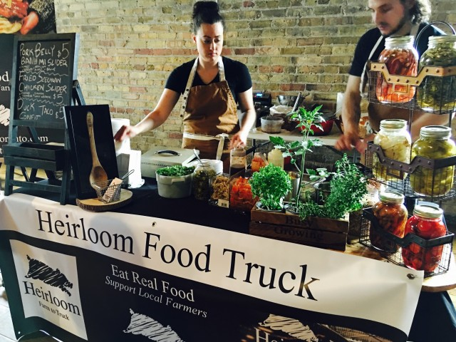 Eat Real Food by Heirloom Food Truck
