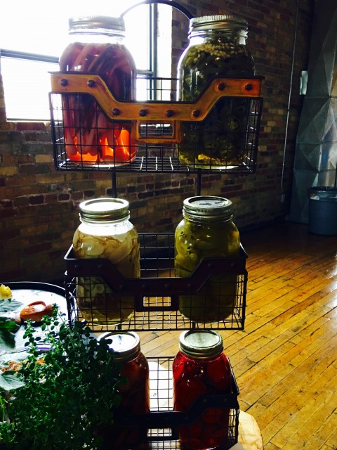 Picturesque preserves by Heirloom Food Truck