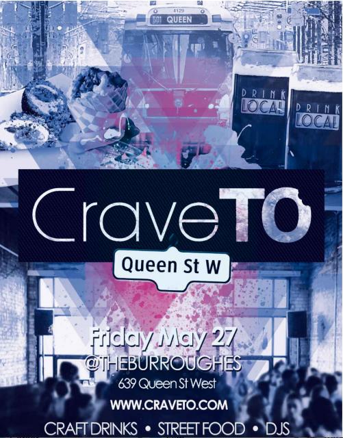 CraveTO 2016 Poster