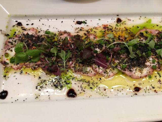 foragers octopus ceviche