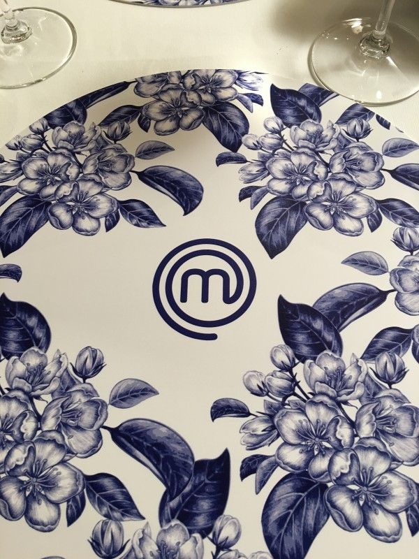 blue placemat masterchef