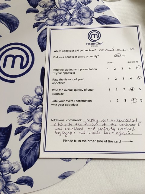 masterchef survey