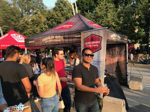 Lake of the Woods Brewing Company cne beer tent toronto