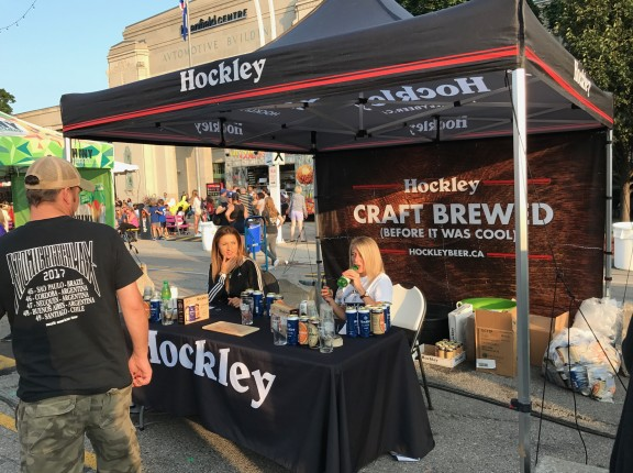 Hockley Brewing Company beer tent toronto cne