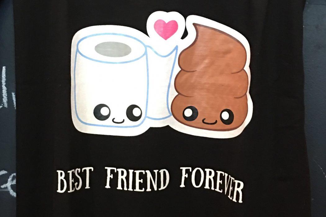 poop cafe graphics logo toronto t-shirt shirt apparel attire