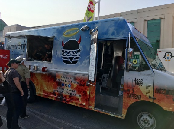 burgatory food truck cne toronto