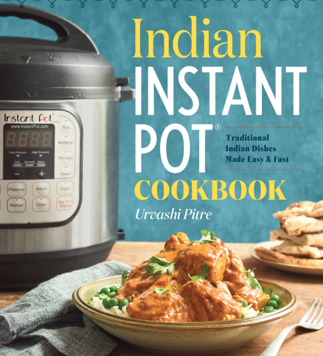recipe book indian food instant pot