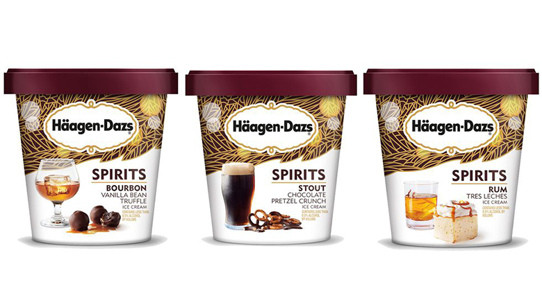 Haagen-Dazs Spirits Collection