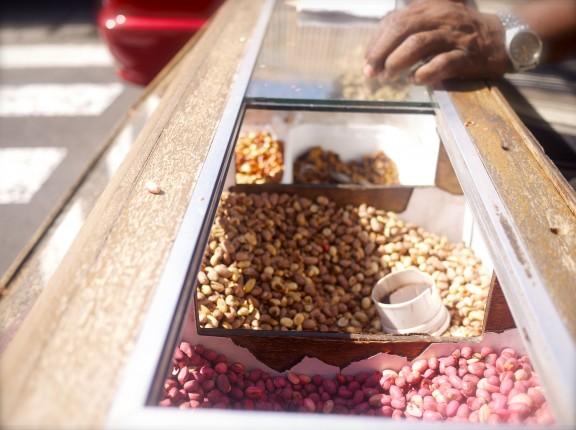 Peanut Stand in Mauritius