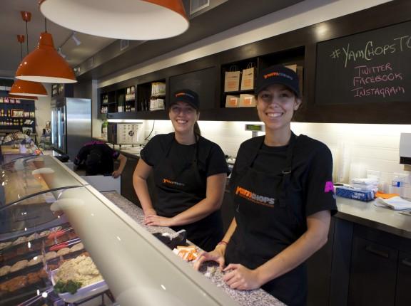 Happy YamChops employees