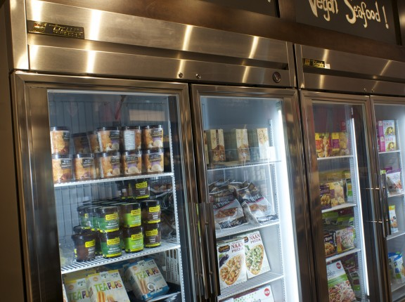 Frozen goodies including Coconut Ice Cream