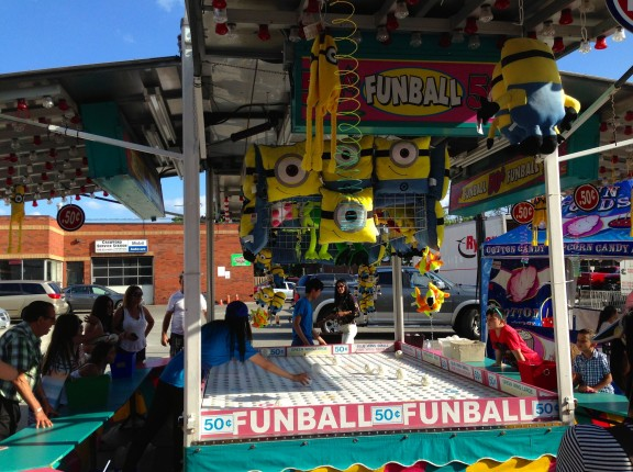carnival toronto fair funball fun games little italy