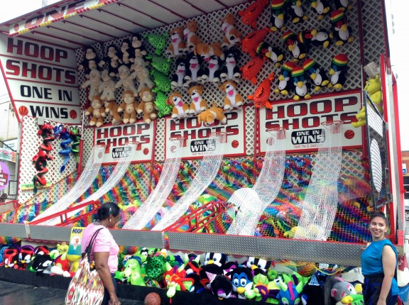 fun carnival game fair toronto little italy college outdoor