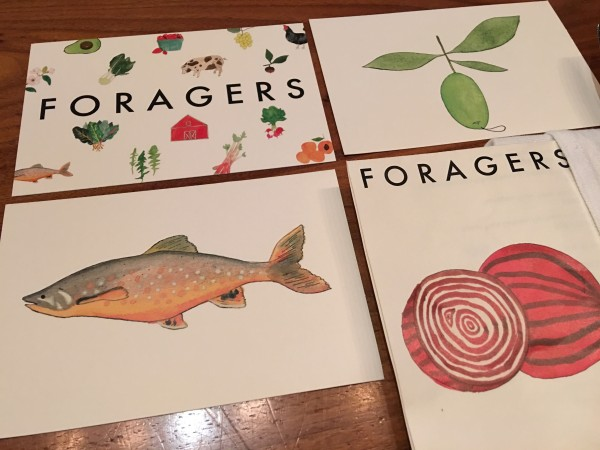 Foragers postards