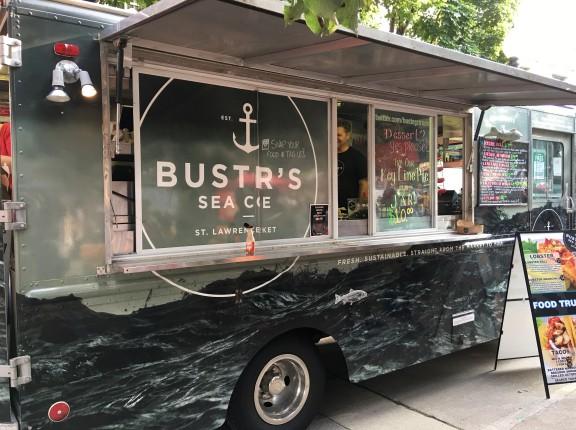 food truck cne bustr's sea cove